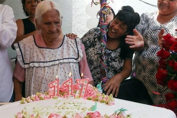 Una mujer de Jalisco celebra su cumpleaños 117
