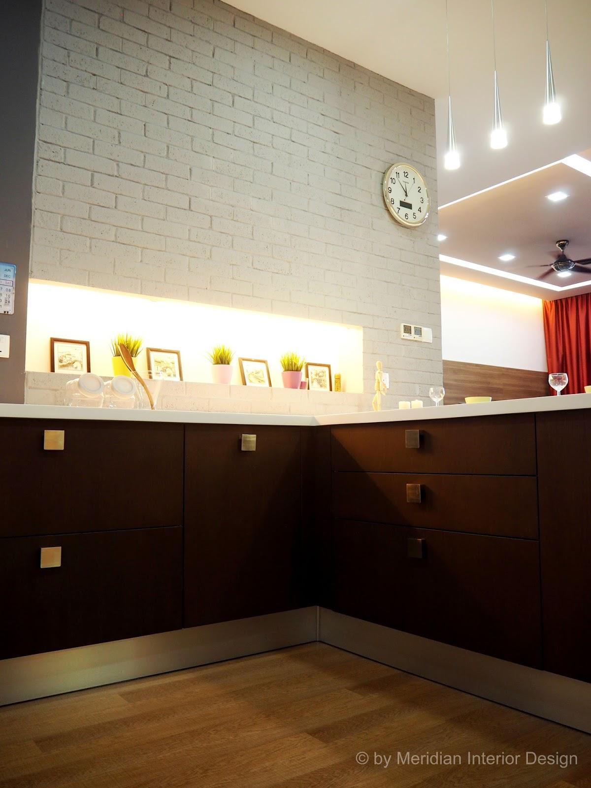 Inspiration through creative interior designs pact Kitchen