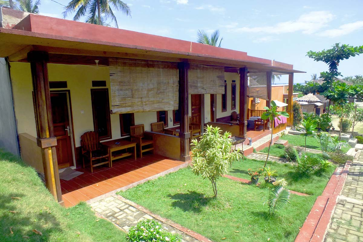 penginapan Villa Bukit Indah  sawarna