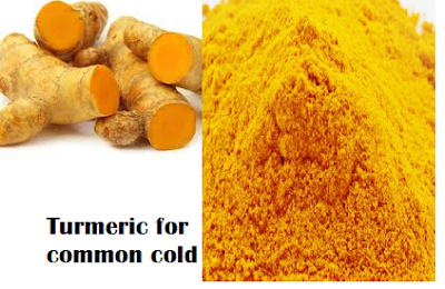 Turmeric for common cold and sore throat for common cold treatment for cold