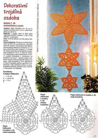 étoiles pour décorer les fenêtres