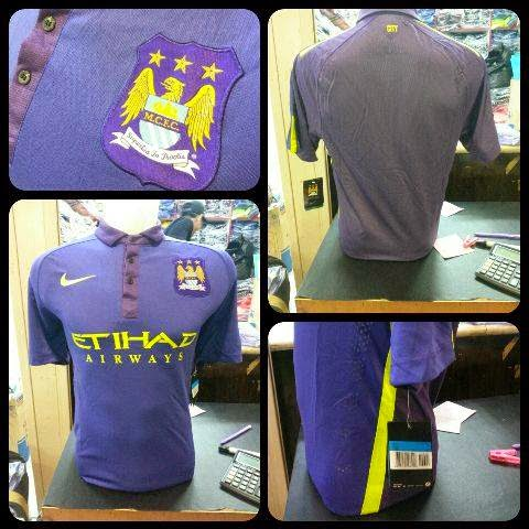 gambar official Jersey Manchester city third Official terbaru musim 2014/2015
