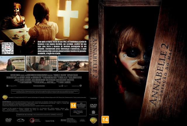 Capa DVD Annabelle 2: A Criação do Mal [Custom]