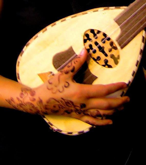 Henna i gitara. Medyna Casablanca