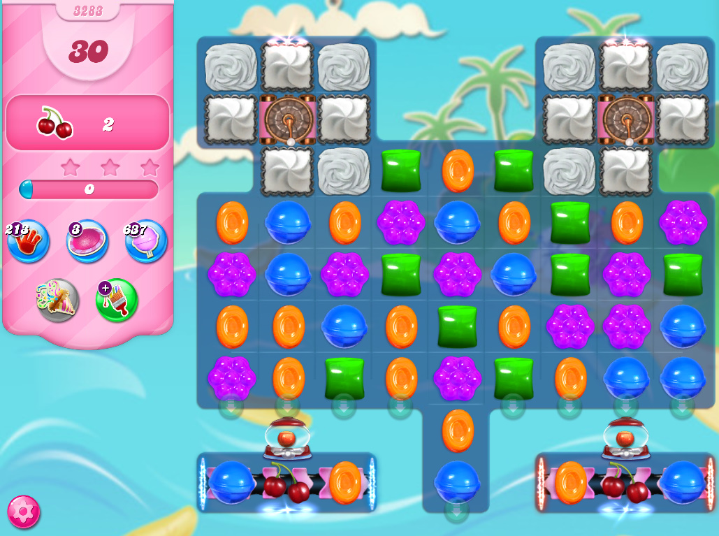 Candy Crush Saga level 3283
