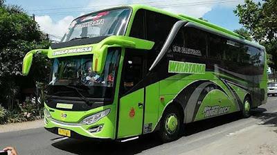 bus baru wiratama transport pariwisata