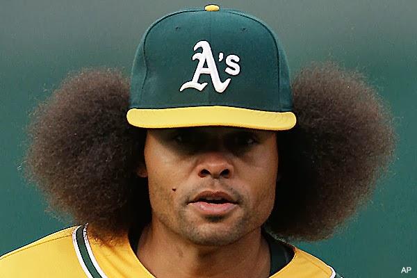 really bad baseball cards: Oscar Gamble: World's Largest Afro