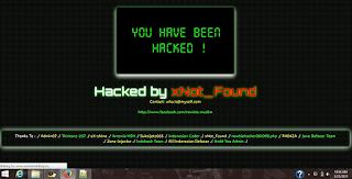 4. Script Deface Keren By xNot_Found