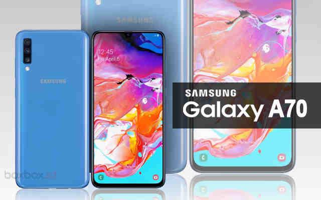Samsung a70 spesifikasi dan harga