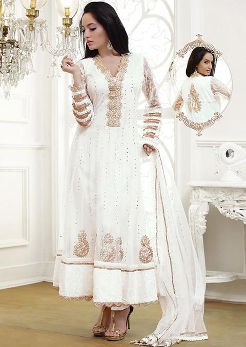 model baju gamis india terbaru