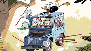 "Disney XD to create new ""Ducktales"" TV show."