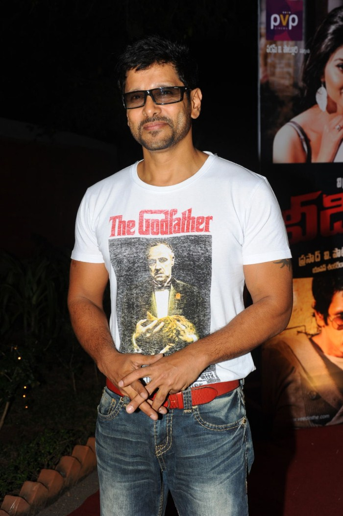 Chiyaan Vikram New Stills in Telugu Movie Veedinthe Audio ...  Chiyaan Vikram ...