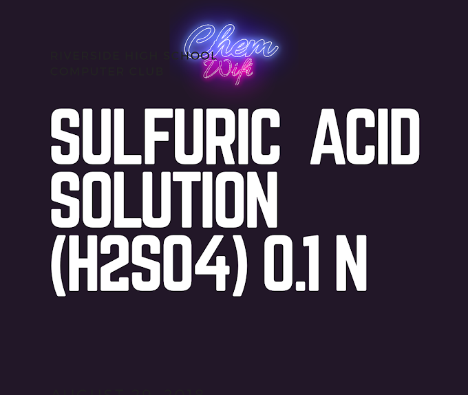 SULFURIC ACID, 0.1 N