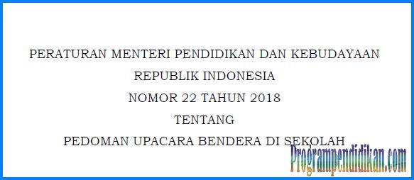 permendikbud no 22 tahun 2018