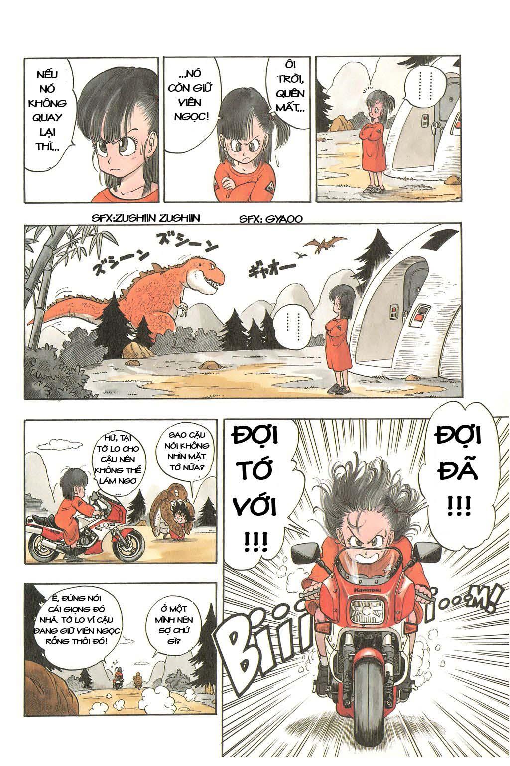 Dragon Ball chap 3 trang 8