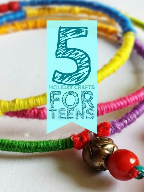 Holiday crafts for teens for Christmas crafts for teens