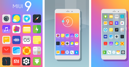 Screenshot MIUI 9 - Icon Pack