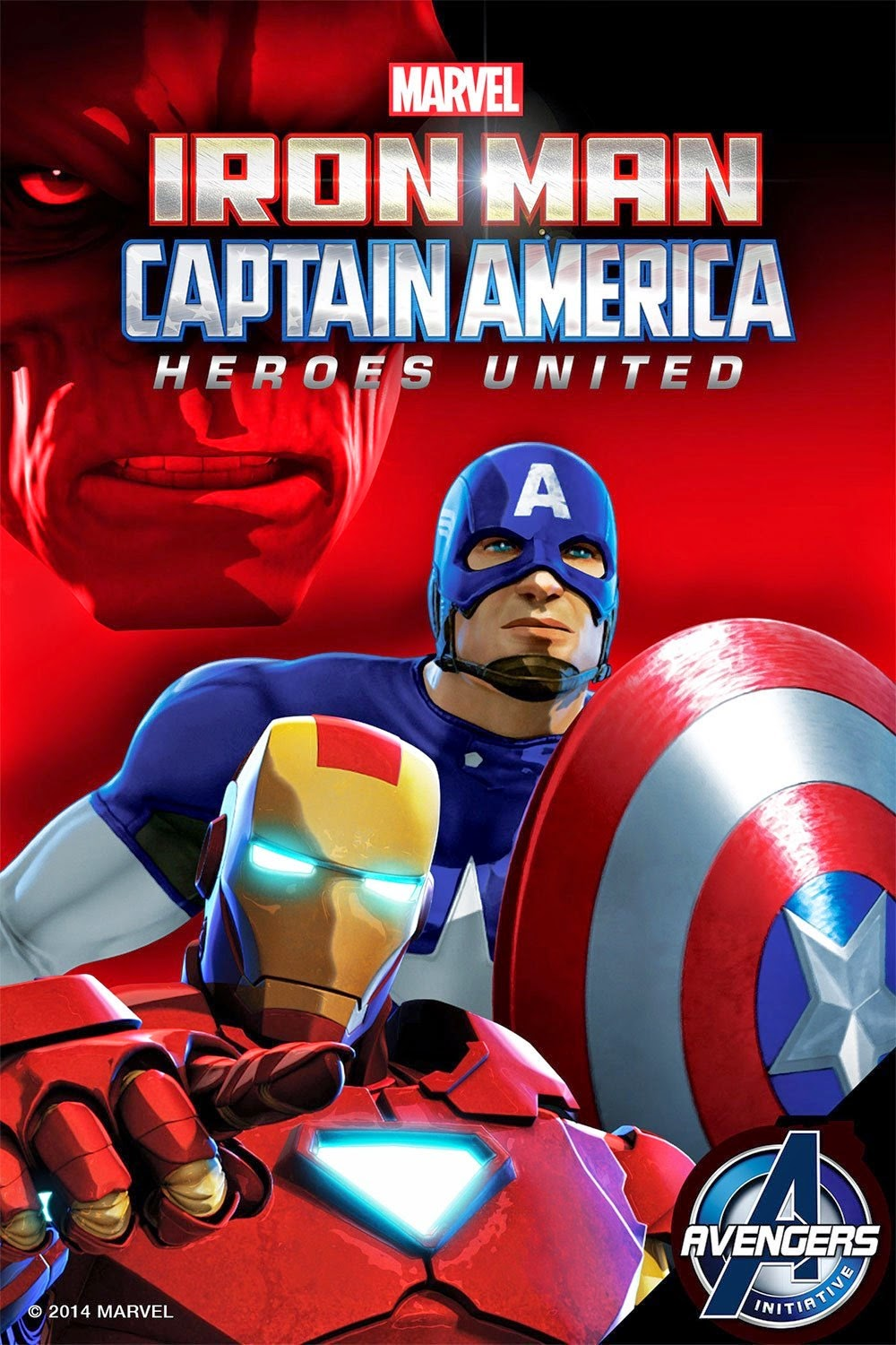Iron Man and Captain America: Heroes United  (2014) HDRip ταινιες online seires oipeirates greek subs