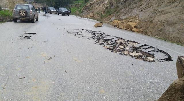 Αποκατάσταση ζημιών στο οδικό δίκτυο σε Θεσπρωτία και Άρτα