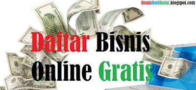 Daftar Bisnis online Gratis Tanpa Modal Terbaru 2017