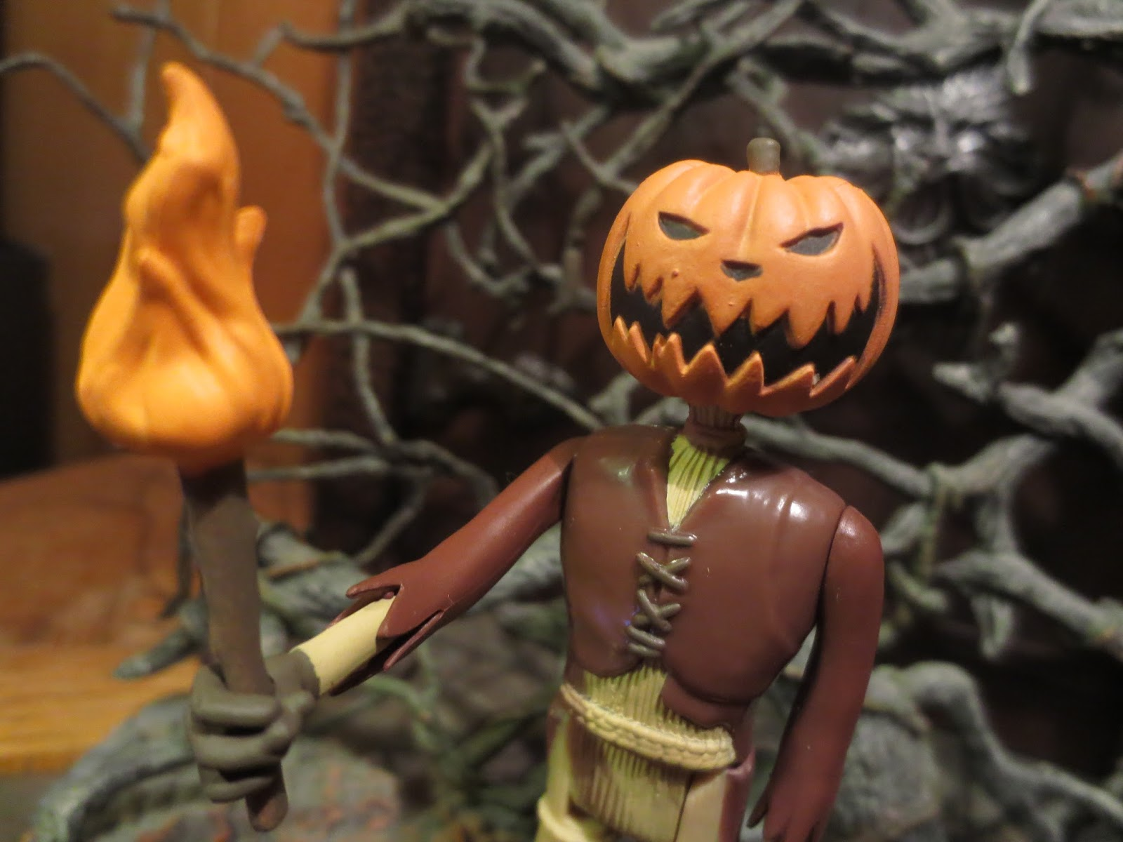 ac82cd2e0be2 Halloween Toy Review  Pumpkin King Jack from The Nightmare Before Christmas  ReAction by Funko. Happy Halloween! Trick  r Treat ...
