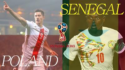 Poland vs Senegal, Senegal vs Poland, Piala Dunia 2018, World Cup 2018,