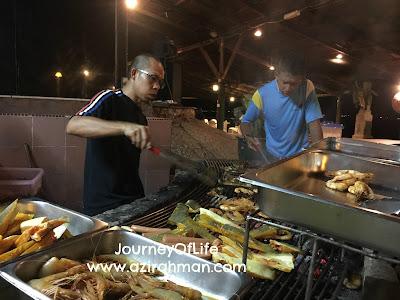 Pertemuan Di Damai Laut Beach Resort, Lumut, reunion sekolah