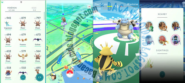 Download POkemon Go Versi 0.33.0 Apk Android terbaru