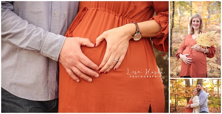 photographe 77 grossesse femme enceinte foret idee studio