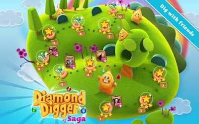Diamond Digger Saga Mod Apk v2.1.0 (Mod Lives/Boosters & More) Free Download