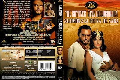 CARATULA: Salomón y la reina de Saba - DescargaCineClasico.Net