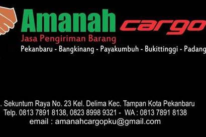 Lowongan Amanah Cargo Pekanbaru November 2018
