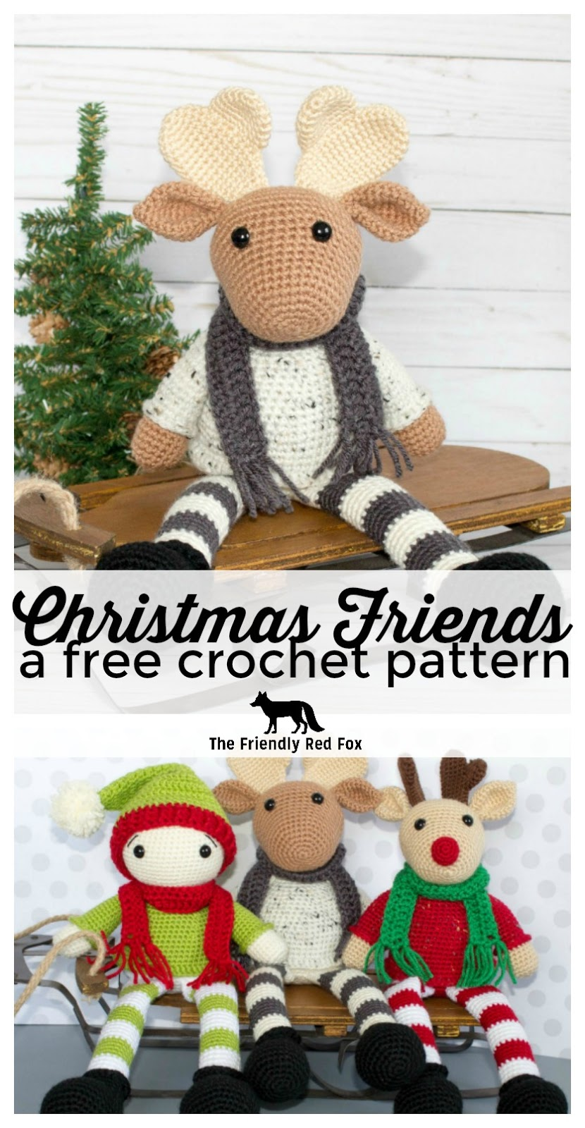 Free Patterns | Christmas crochet patterns, Christmas crochet ... | 1600x830