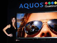 Sharp 70-Inch Aquos Quattron, Televisi LCD Berteknologi LED dengan Ukuran Jumbo
