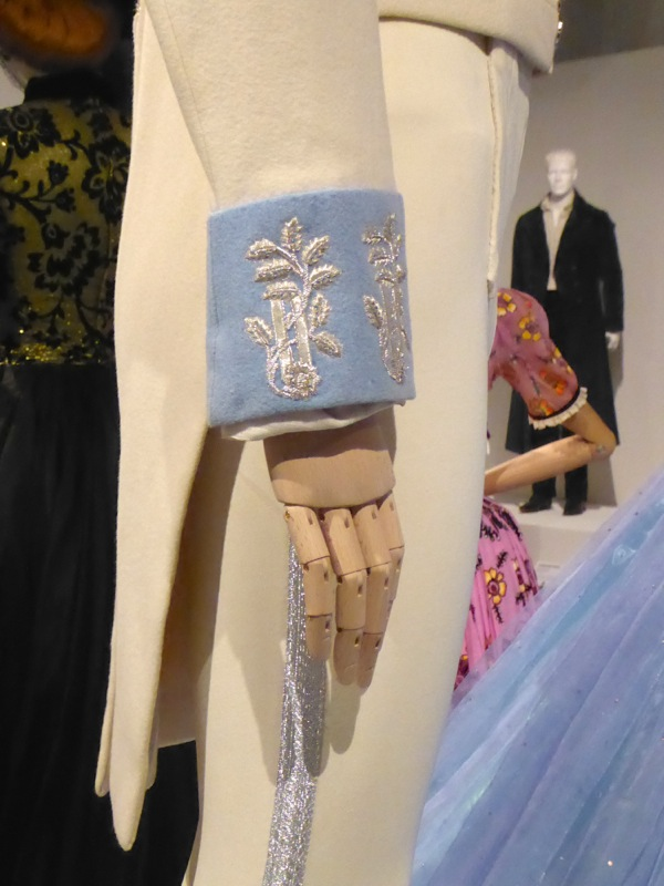 Charming Royal Ball costume detail Cinderella