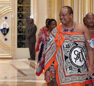 King Mswati III renamed Swaziland eSwatini in April 2018