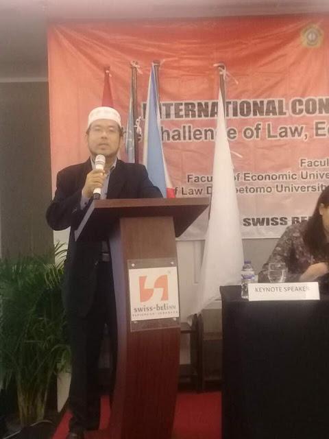 DR. MOHD SHUKRI HANAPI CONQUEST SURABAYA AT THE ICLES2017