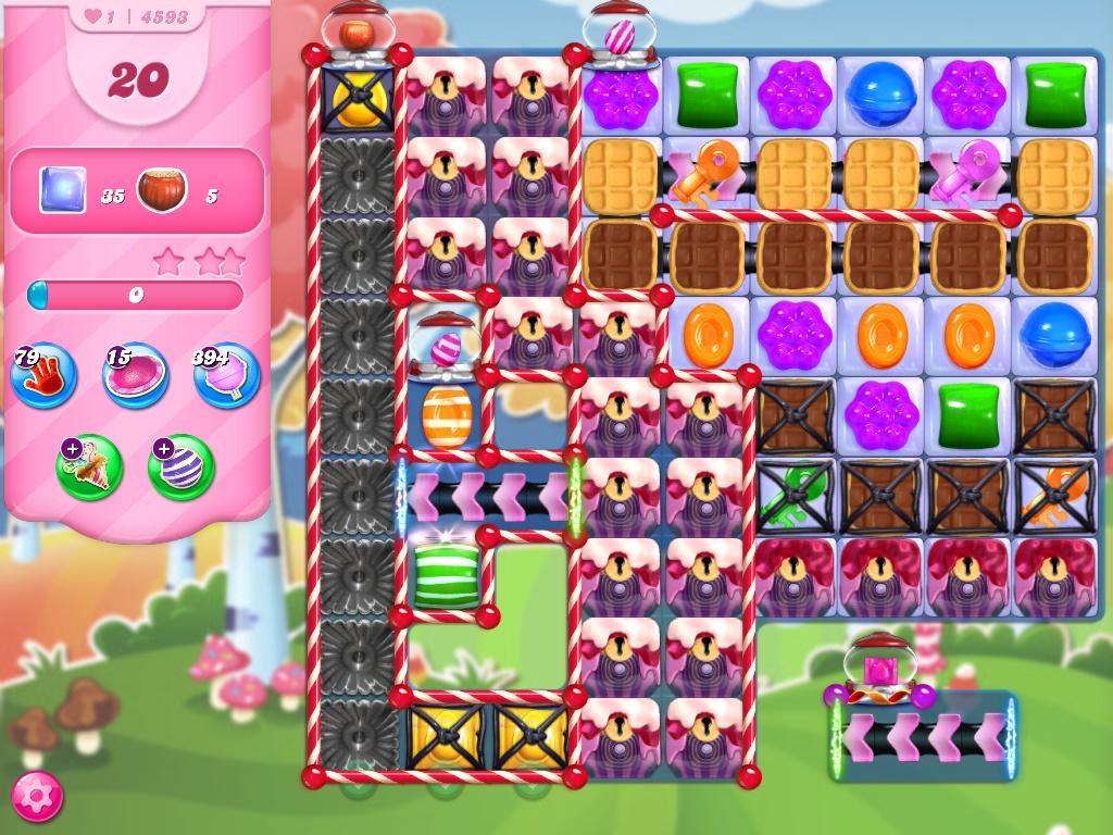 Candy Crush Saga level 4593