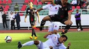 فريق أولمبيك آسفي يفرض التعادل السلبي على نادي الجيش الملكي في الجولة الثانية من الدوري المغربي