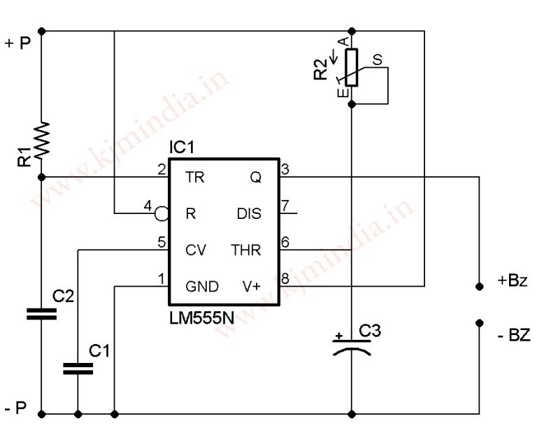 Water level indicator circuit using 555 and cd4049 6 led water water level indicator circuit using 555 and cd4049 6 led ccuart Gallery