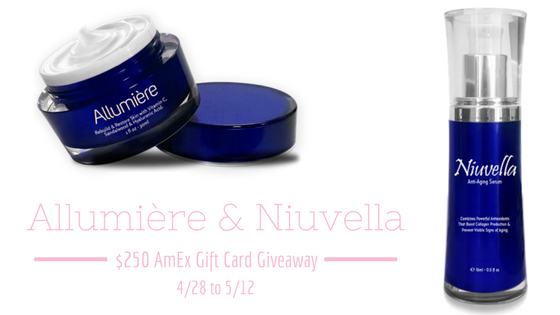 Allumière and Niuvella + $250 AmEx Gift Card Giveaway