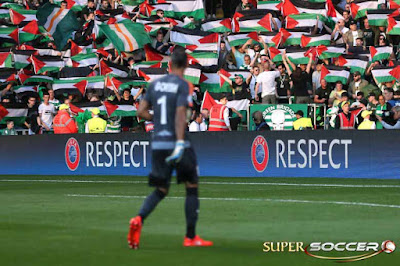 Glasgow Celtic Kena Denda Akibat Kibarkan Bendera Palestina