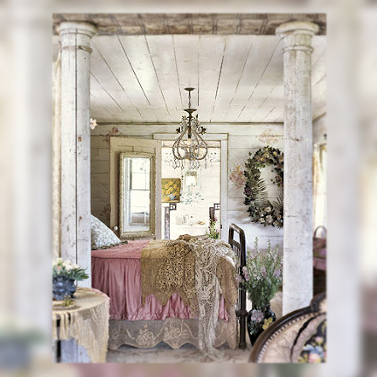 Vintage shabby chic rooms. keys to view more girl s rooms swipe ...