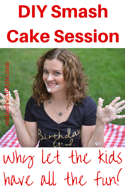Smash Cake session...for adults!
