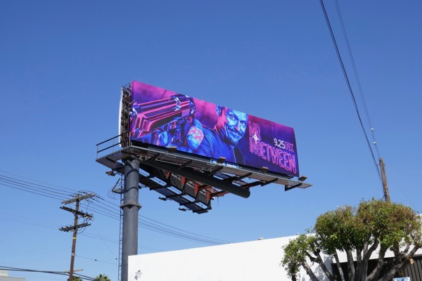 Mr Inbetween FX series billboard