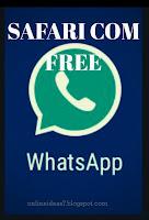 Safaricom free WhatsApp