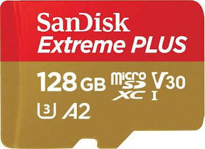 SanDisk Extreme Plus 128 GB