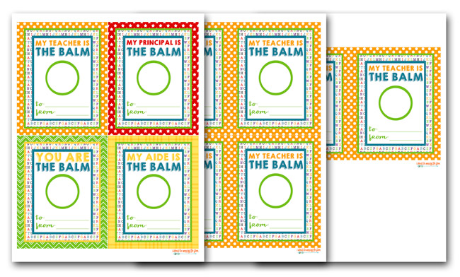 photo about You're the Balm Free Printable titled Totally free EOS Lip Balm Trainer Appreciation Printables i ought to