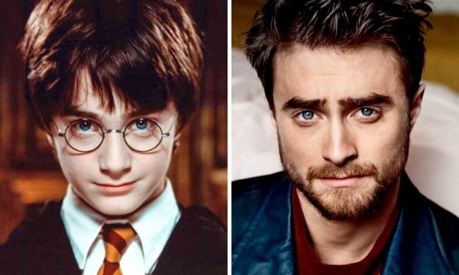 Harry Potter interpretado por Daniel Radcliffe