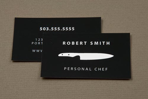 10 Creative Chef Business Card Examples Mow Design